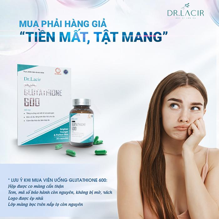Cảnh báo hàng kém chất lượng, hàng nhái mỹ phẩm Dr Lacir xuất hiện trên thị trường