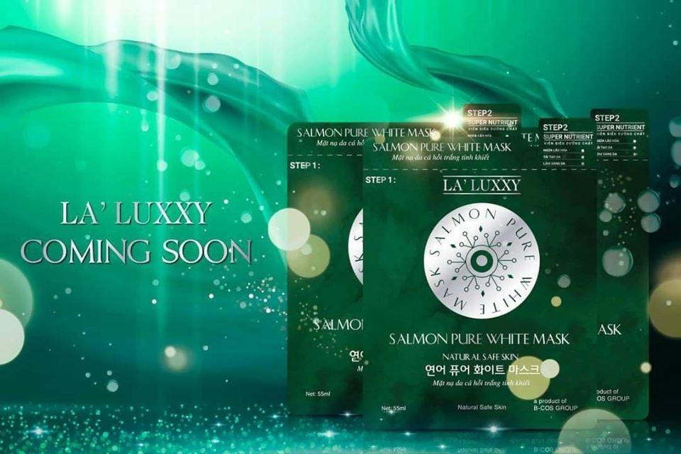 Mặt nạ cá hồi Dr Lacir - siêu phẩm của La' Luxxy sẽ đổ bộ vào Việt Nam - 18/8/2020